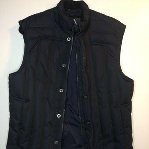 Navy blue Armani vest